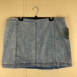 NWT Wild Fable Denim Mini Skirt